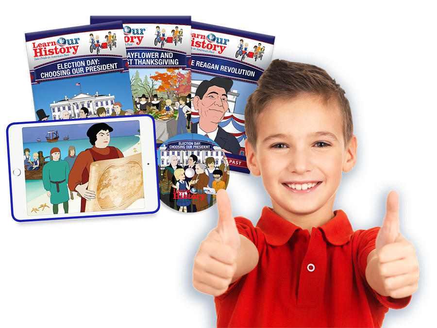 Boy loves Learn Our History DVDs and Learn Our History streaming
